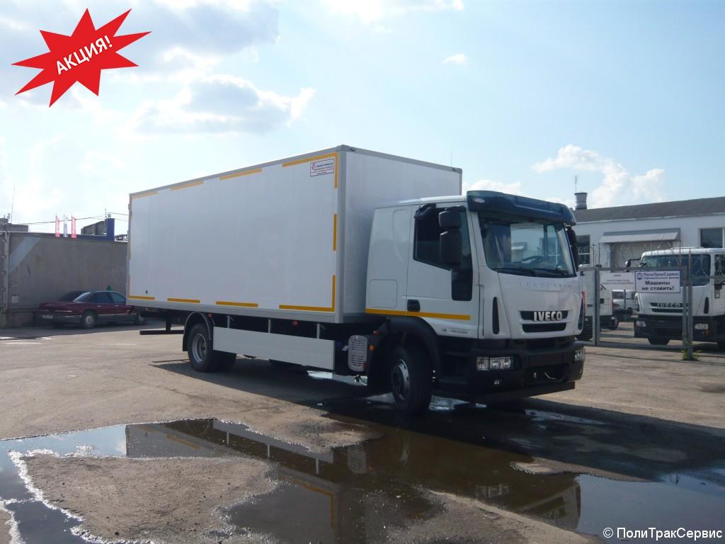 <h2>Изотермический и промтоварный фургоны на базе шасси IVECO-AMT EUROCARGO MLС140E25</h2>