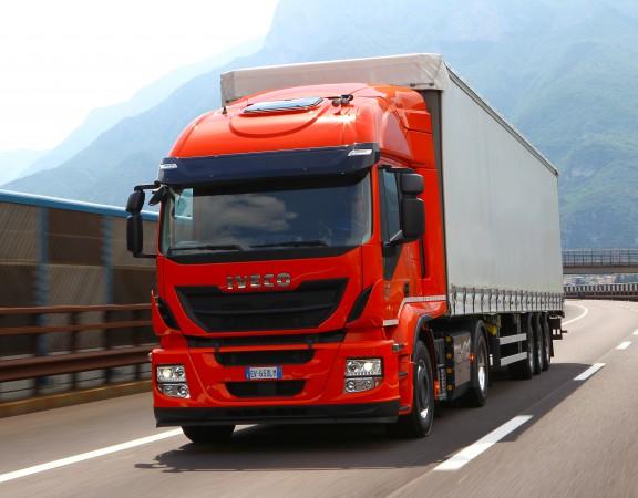 Iveco заключила первый контракт на поставку 50 тягачей Stralis LNG