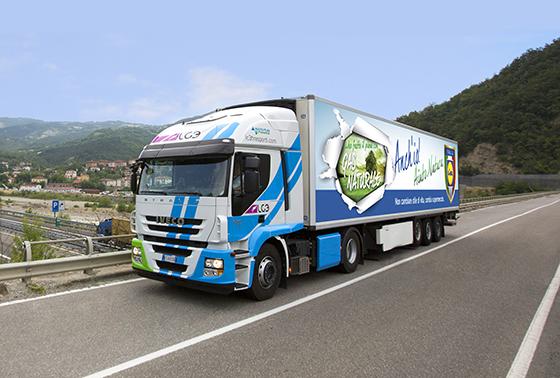 Сеть супермаркетов Lidl выбрала Iveco для создания крупнейшего в стране парка автомобилей на сжиженном газе!