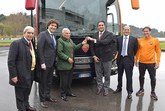 Iveco Bus, футбольныцй клуб рома