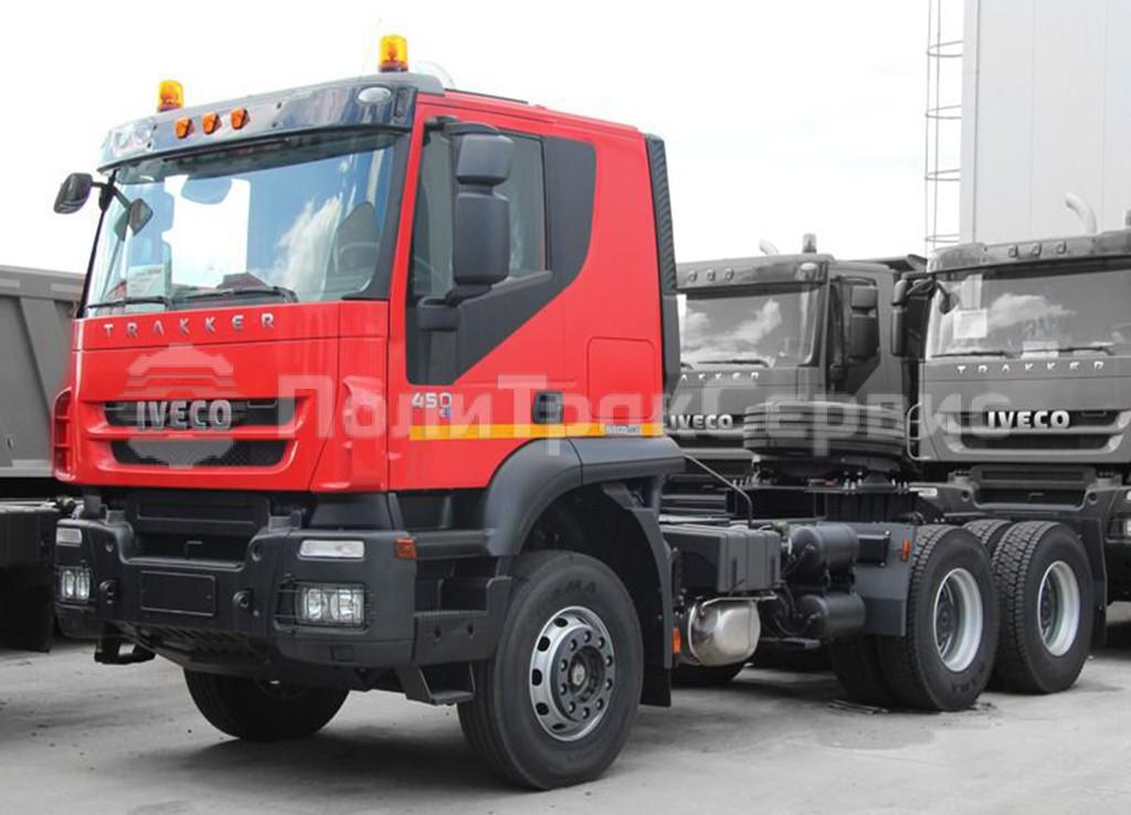 <h2>Седельный тягач IVECO-AMT 633911 450 л.с. (Iveco Trakker AТ380T45H)</h2>