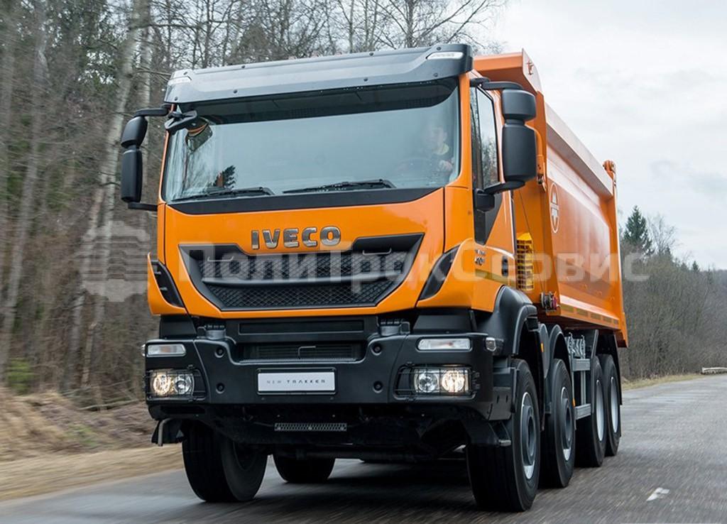 <h2>Cамосвал IVECO Trakker Hi-Land AD410T41H (Евро 5) с кузовом МультиТрак (20 куб.м)</h2>
