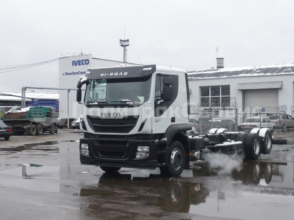 <h2>Шасси Iveco Stralis Hi-Road AT260S42Y/P</h2>