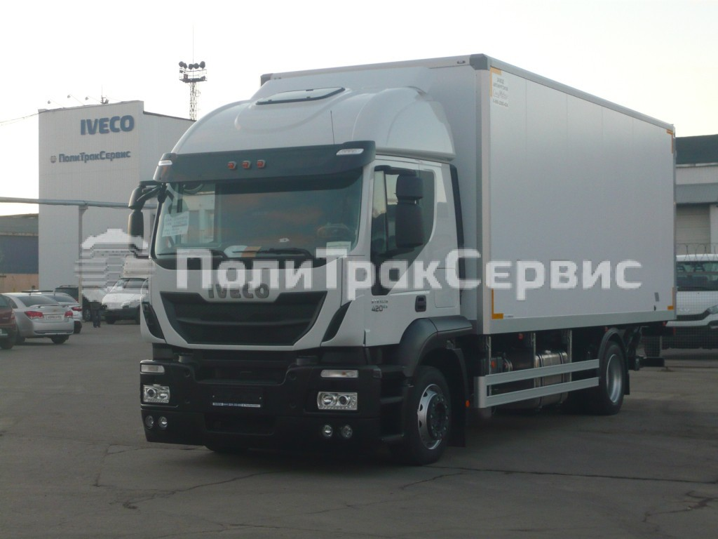 <h2>Изотермический фургон на шасси Iveco Stralis Hi-Road AT190S42P</h2>