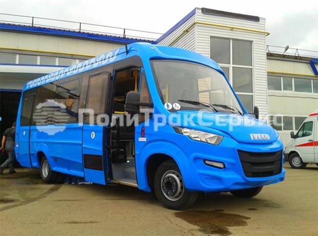 <h2>Пригородный автобус IVECO DAILY 70С15 (20+25+1)</h2>