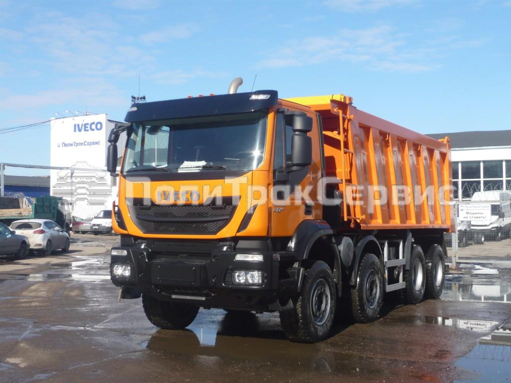 <h2>Cамосвал IVECO Trakker Hi-Land AD410T41H (Евро 5) с кузовом Cantoni</h2>