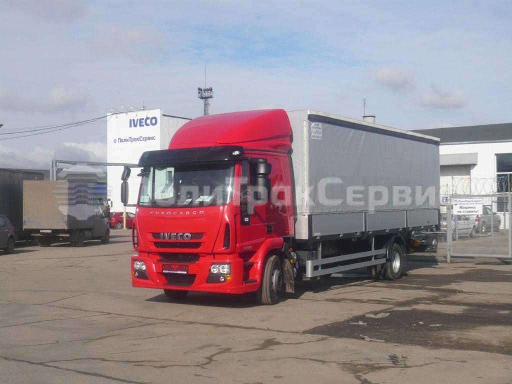 <h2>Шторно-бортова платформа на шасси Iveco Eurocargo ML120E22</h2>