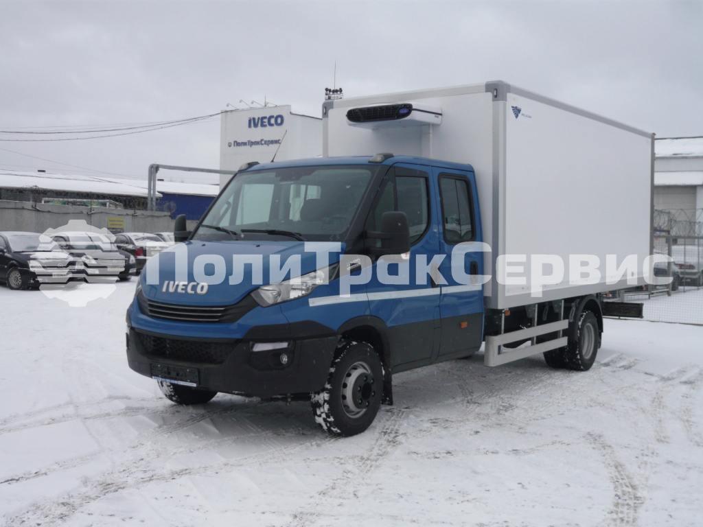<h2>Рефрижератор Iveco Daily 70C17D A8  с изотермическим фургоном Pelican Van</2>